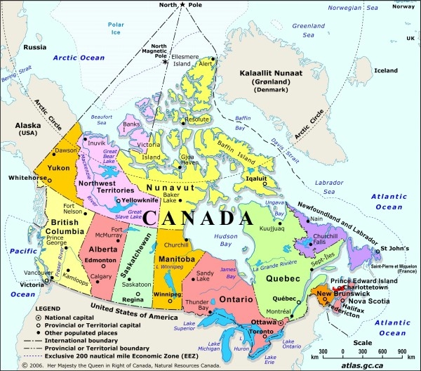 LogisticsWorld Canada Canadian Provinces And Abbreviations